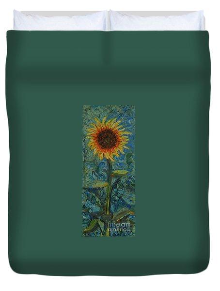 One Sunflower - Sold Duvet Cover