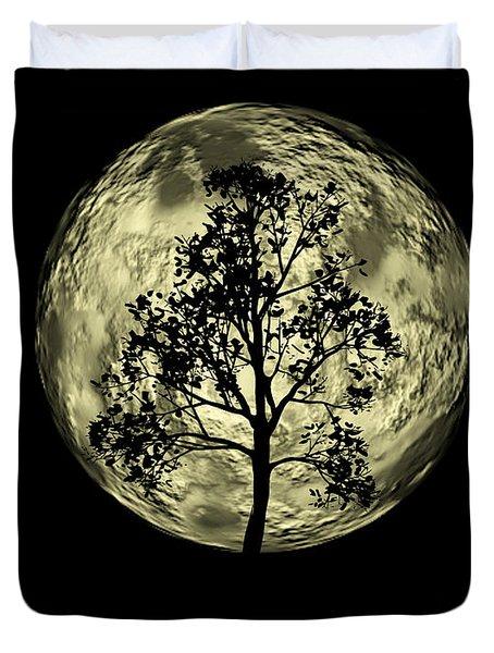 One Tree  Duvet Cover by Mark Ashkenazi
