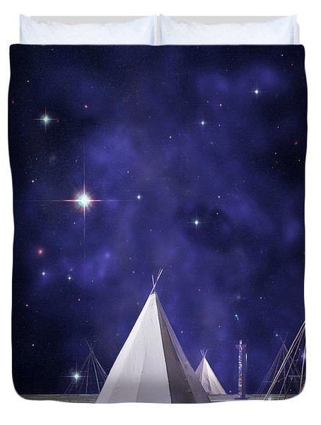One Tribe Duvet Cover