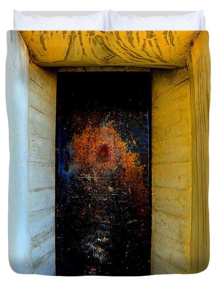 One Way Duvet Cover by Lauren Leigh Hunter Fine Art Photography