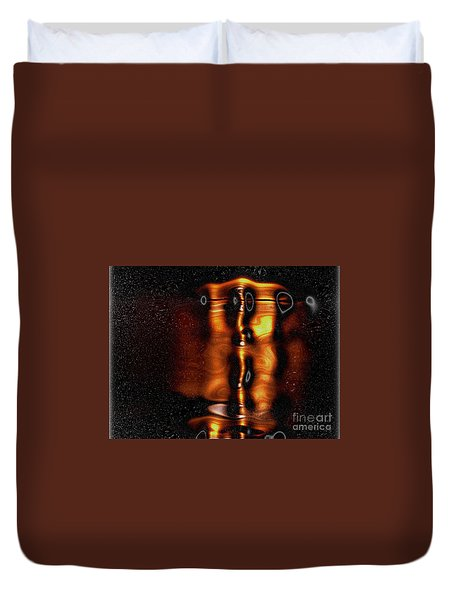 One With Shadows Duvet Cover