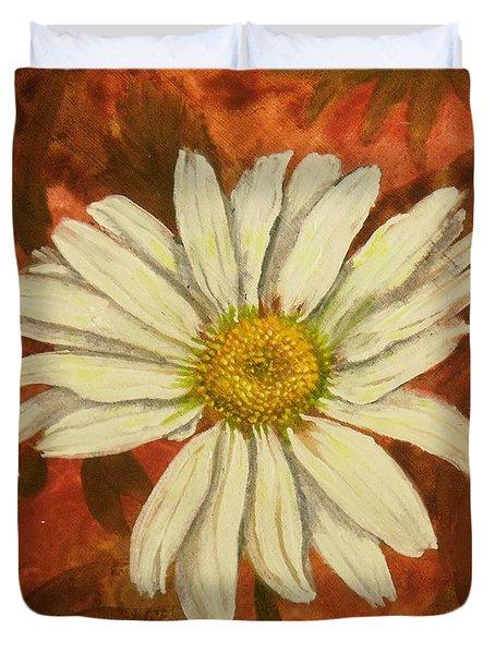 One Yorktown Daisy Duvet Cover