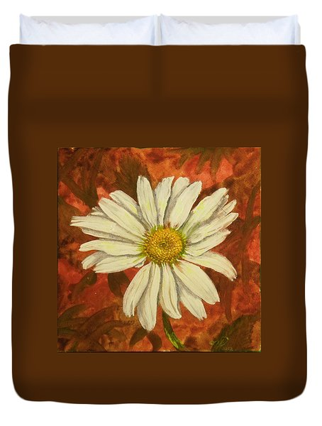 One Yorktown Daisy Duvet Cover