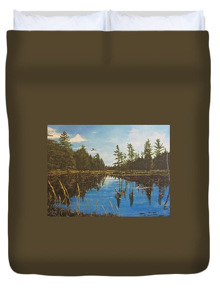 O'neal Lake Duvet Cover