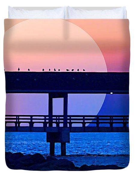Only In Dreams Duvet Cover by Laura Ragland