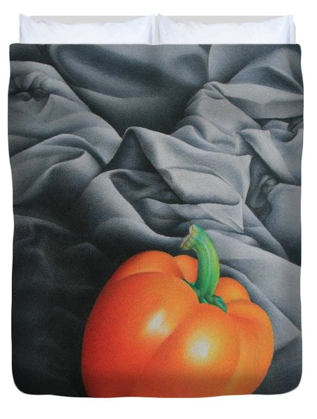 Only Orange Duvet Cover