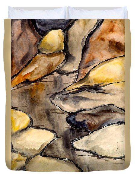 Only Rocks Duvet Cover