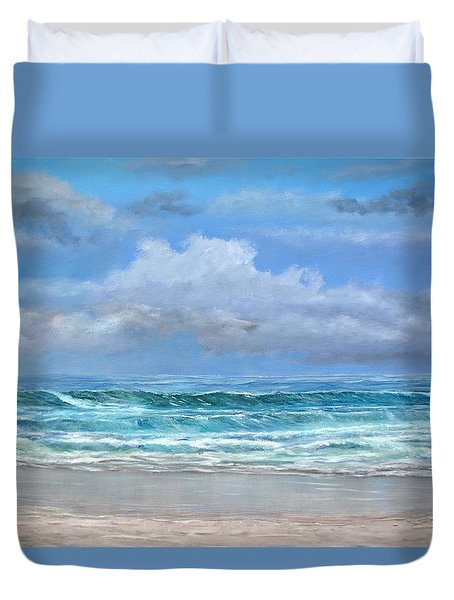 Open Beach Duvet Cover
