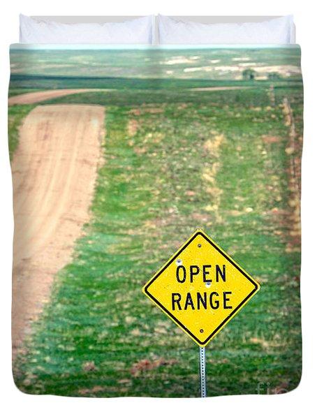 Open Range Duvet Cover