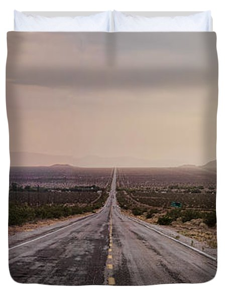 Open Road Duvet Cover