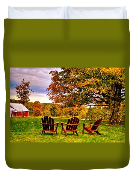 Open Seating Duvet Cover