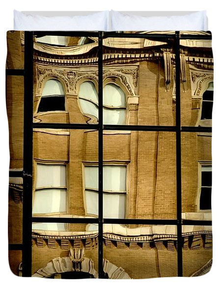 Duvet Cover featuring the photograph Open Windows by Christiane Hellner-OBrien