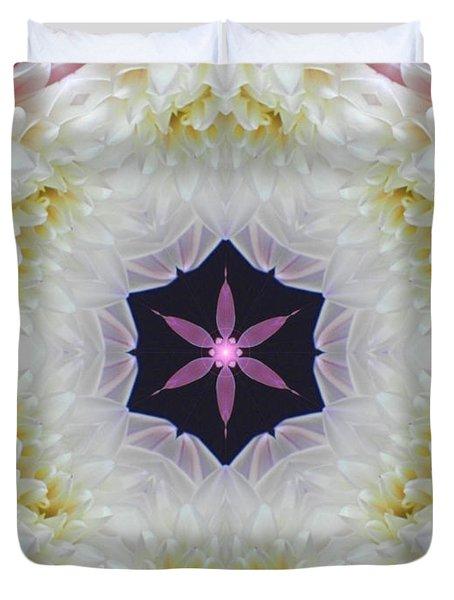 Opening To Love Mandala Duvet Cover