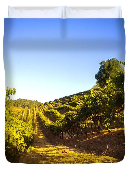 Opolo Winery Duvet Cover