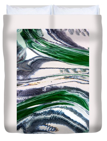 Optical Illusion Duvet Cover by Wendy Wilton