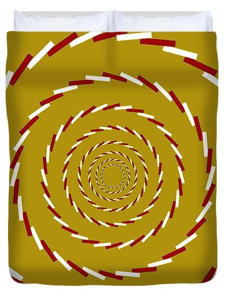 Optical Illusion Whirlpool Duvet Cover