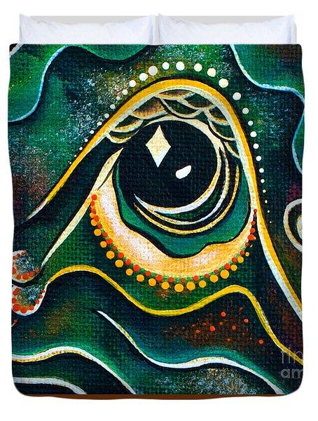 Optimist Spirit Eye Duvet Cover