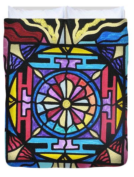 Opulence Duvet Cover by Teal Eye  Print Store