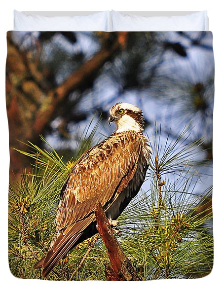 Opulent Osprey Duvet Cover by Al Powell Photography USA