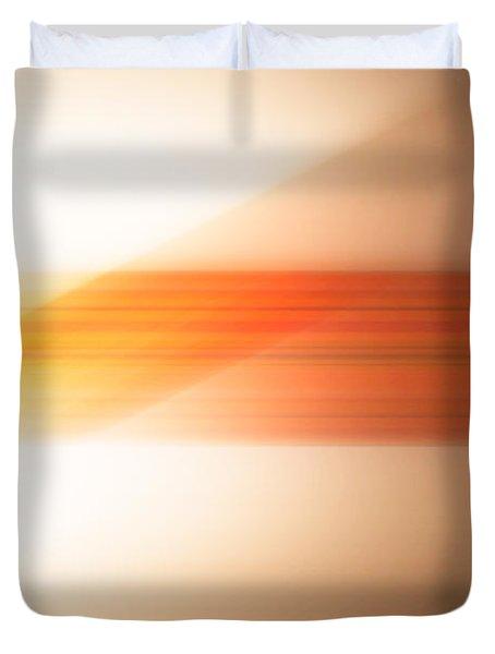 orange I Duvet Cover by Hannes Cmarits
