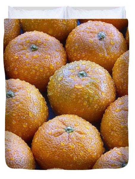 Oranges Duvet Cover by James BO  Insogna