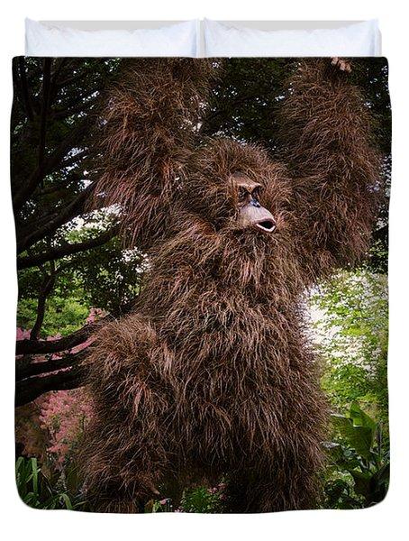 Orangutan Duvet Cover
