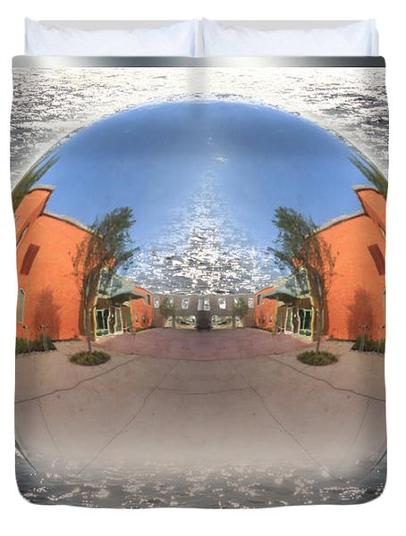 Orb On The Water Duvet Cover