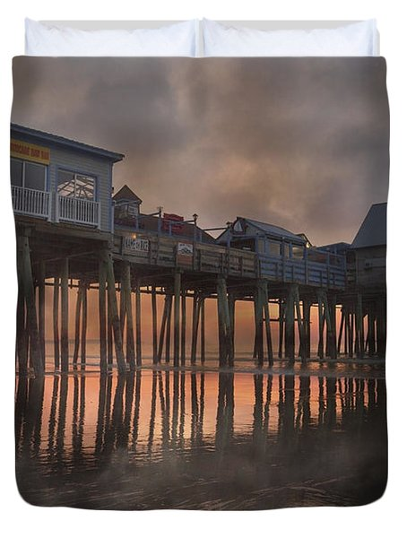 Orchard Beach Glorious Morning Duvet Cover