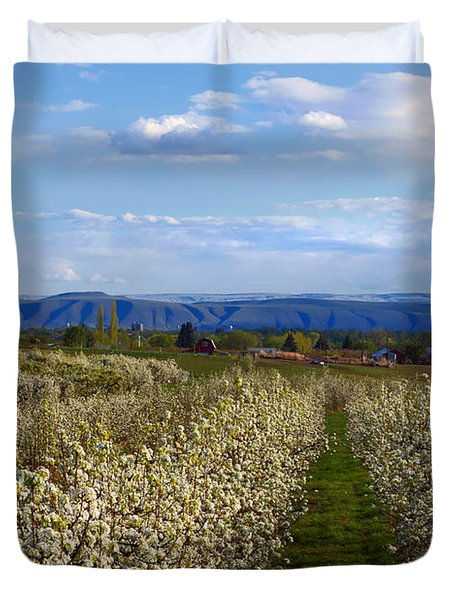 Orchard Country Spring Duvet Cover