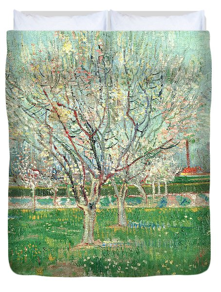 Orchard In Blossom, 1880  Duvet Cover