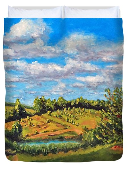 Orchard Duvet Cover