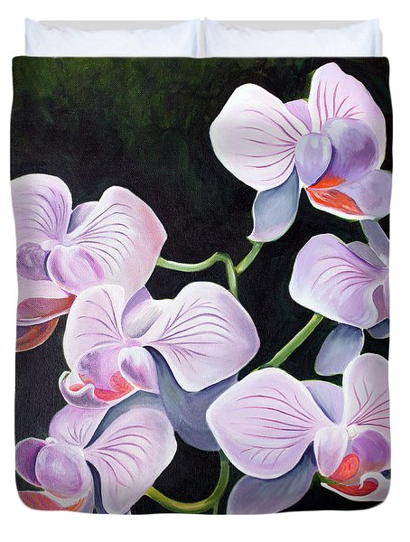 Orchids II Duvet Cover
