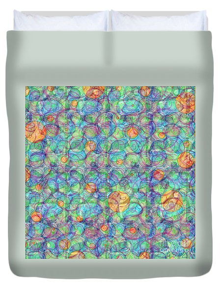 Order In The Maddness Duvet Cover
