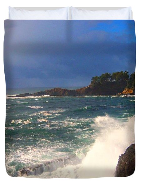 Oregon Coast 9 Duvet Cover