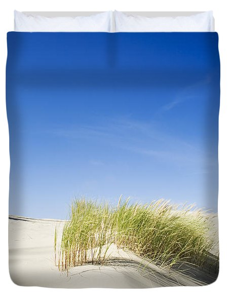 Oregon Dunes Duvet Cover by Charmian Vistaunet