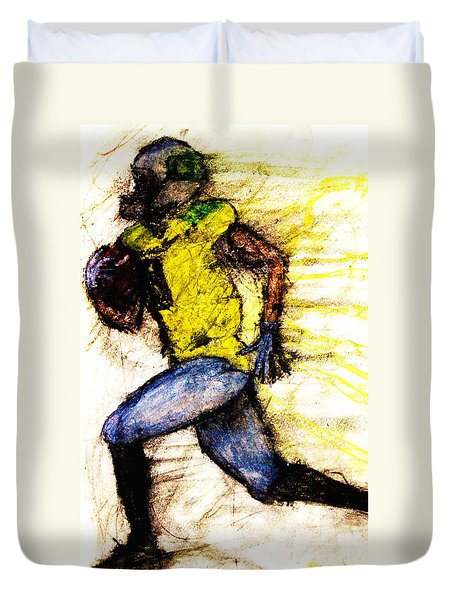 Oregon Football 2 Duvet Cover