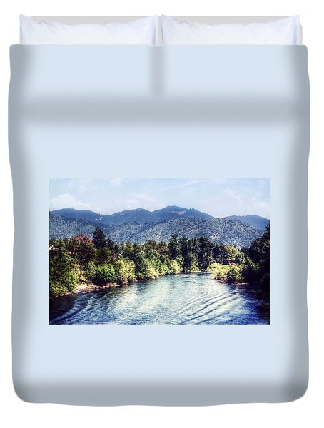Oregon Views Duvet Cover