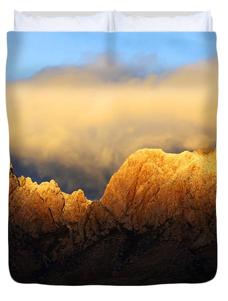 Organ Mountains Symphony Of Light Duvet Cover