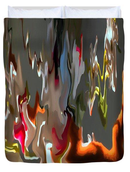 Organic Impressions 1 Duvet Cover by Cedric Hampton