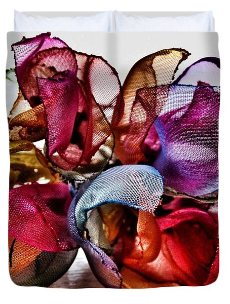 Organza Petals Duvet Cover