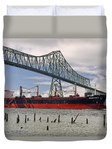 Orientor 2 Duvet Cover by Wes and Dotty Weber