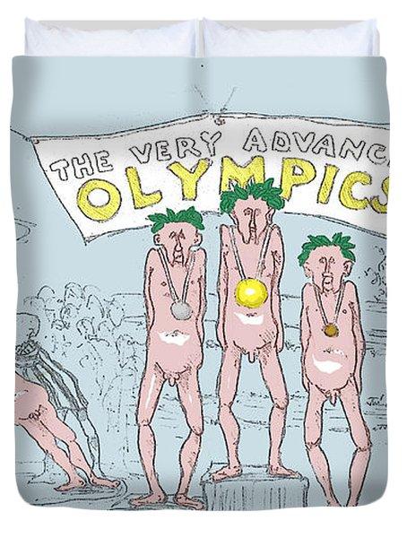 Original Olympics Duvet Cover