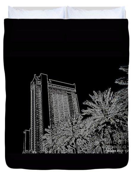 Orleans High Rise Duvet Cover by Joseph Baril