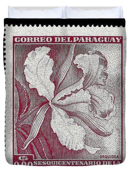 Orquidea Duvet Cover by Andy Prendy