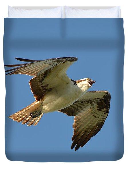 Osprey Duvet Cover by James Petersen