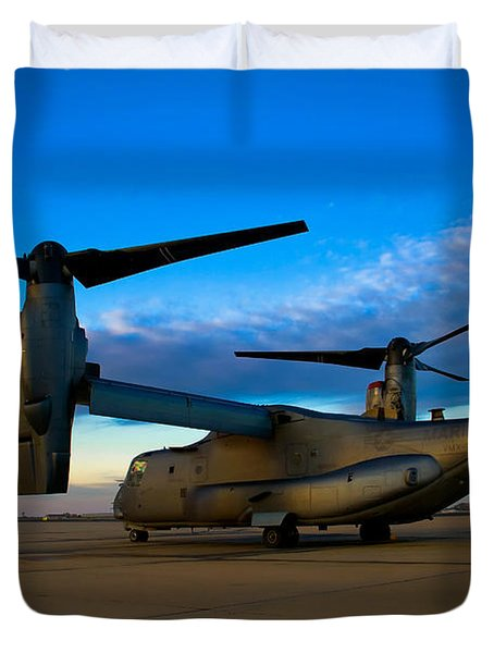Osprey Sunrise Series 1 Of 4 Duvet Cover