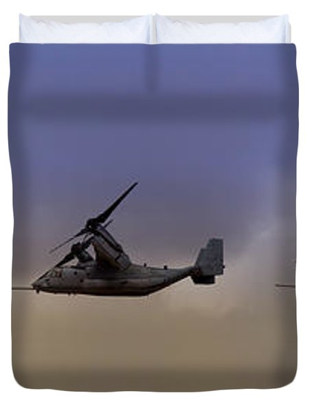 Osprey Transformation Duvet Cover