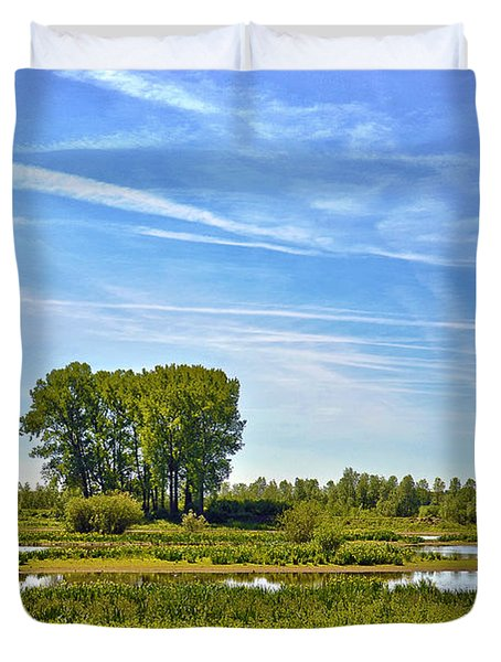 Ossenwaard Near Deventer Duvet Cover