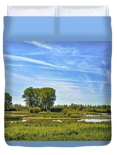 Ossenwaard Near Deventer Duvet Cover