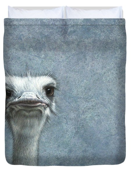 Ostriches Duvet Cover